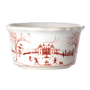 Juliska Country Estate Winter Frolic Ruby Ramekin