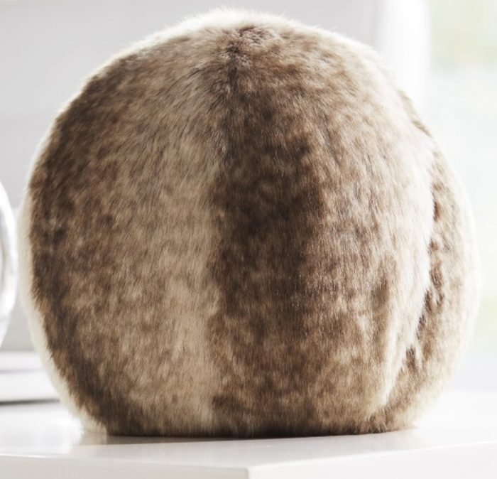 Evelyne Prelonge Faux Fur Snowballs Monaco