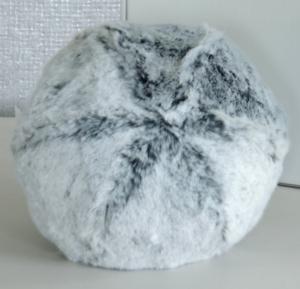 Evelyne Prelonge Faux Fur Snowball - Glacier