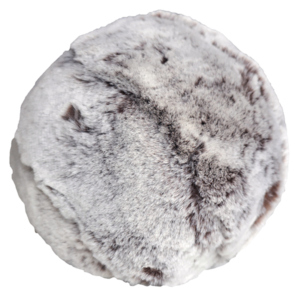 Evelyne Prelonge Faux Fur Snowball - Chestnut