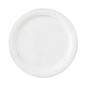 Juliska Al Fresco Berry & Thread Melamine Whitewash Dinner Plate