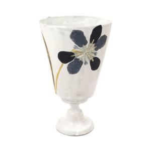 ASTIER DE VILLATTE Blue Iris Vase
