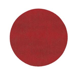 Caspari Coromandel Crimson Round Snakeskin Felt Back Placemat