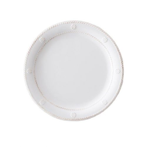 Juliska Al Fresco Berry & Thread Melamine Whitewash Dessert/Salad Plate