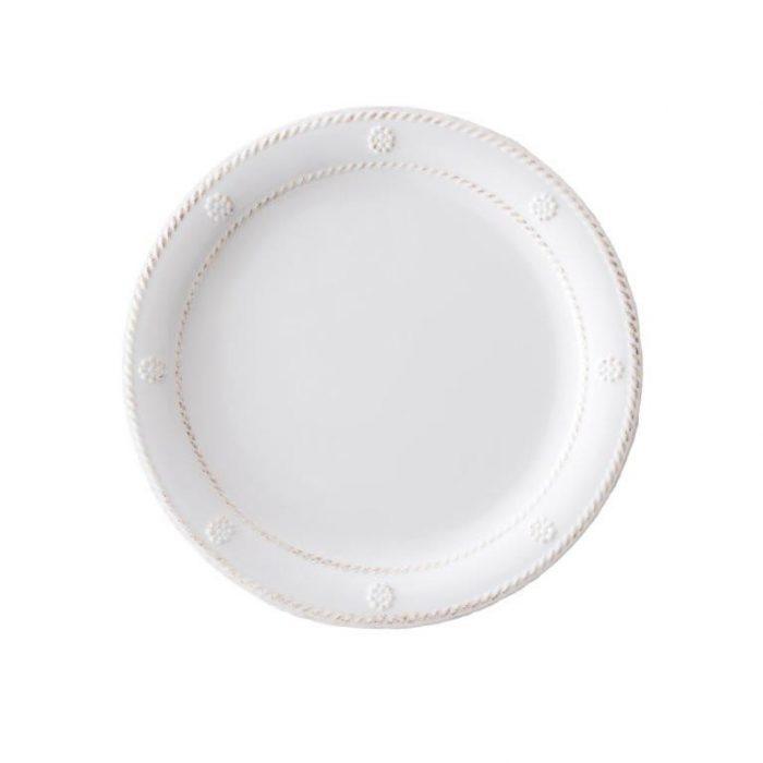 Juliska Al Fresco Berry & Thread Melamine Whitewash Dessert/Salad Plate