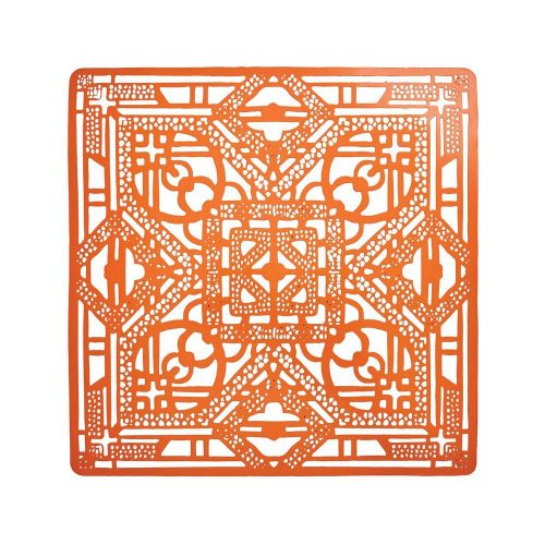 Kim Seybert FILIGREE ORANGE PLACEMAT