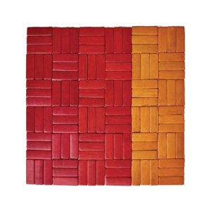 Kim Seybert JENGAA ORANGE PLACEMAT
