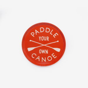 Izola PADDLE YOUR OWN CANOE DRINK TRAY