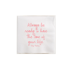 Ben's Garden-Always Be Ready To Have The Time Amusing Cocktail Napkins