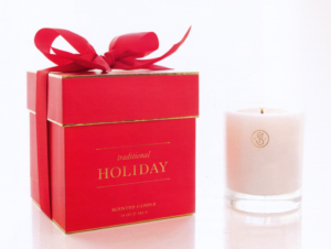 Sugar Paper Holiday Candle