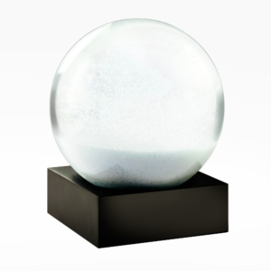 Cool Snow Globes-Snowball