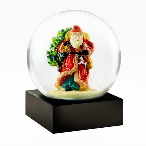 Cool Snow Globes-Saint Nick