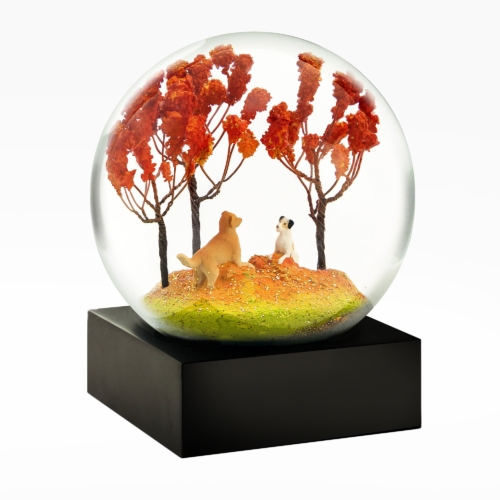 Cool Snow Globes-Autumn Pals