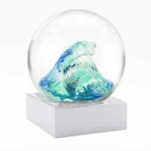 Cool Snow Globes-Wave