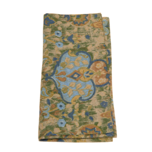 Tina Chen Designs Napkin Old World Flower Motif