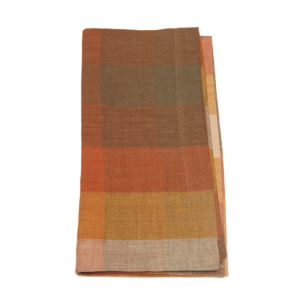 Tina Chen Designs Napkin Big Checked Autumn
