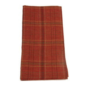 Tina Chen Designs Napkin Warm Plaid