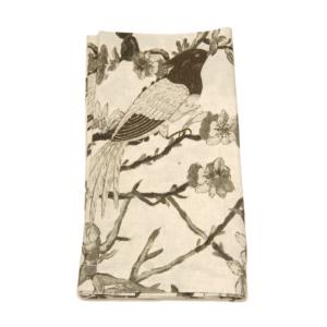 Tina Chen Designs Napkin Bird Motif