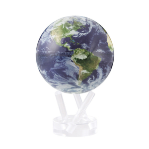 """MOVA® Satellite View with Cloud Cover Globe 4.5"""""""