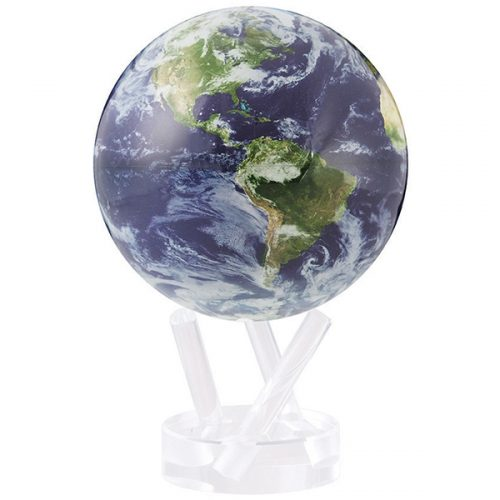 """MOVA® Satellite View with Cloud Cover Globe 6"""""""
