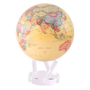 "MOVA® Antique Beige MOVA® Globe 8.5"""