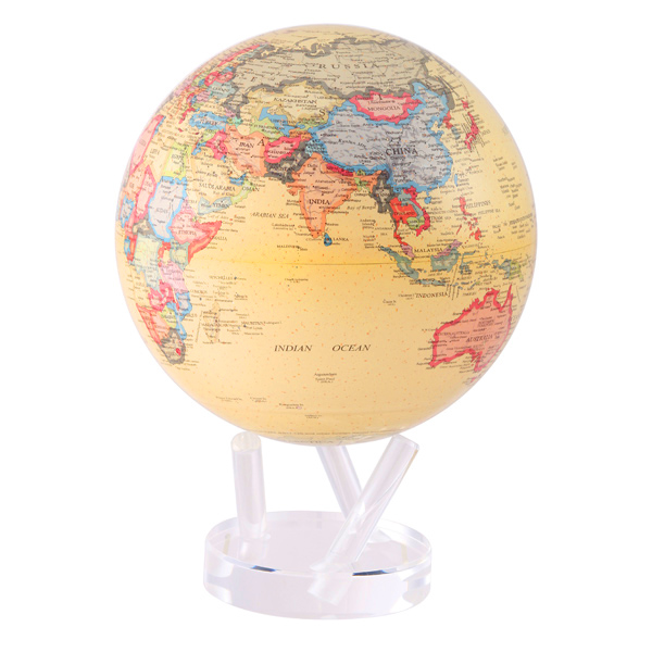 MOVA® Antique Beige MOVA® Globe 8.5""
