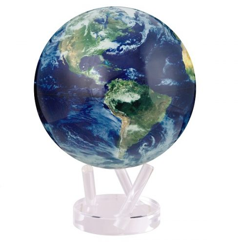 """MOVA® Satellite View with Cloud Cover Globe 8.5"""""""