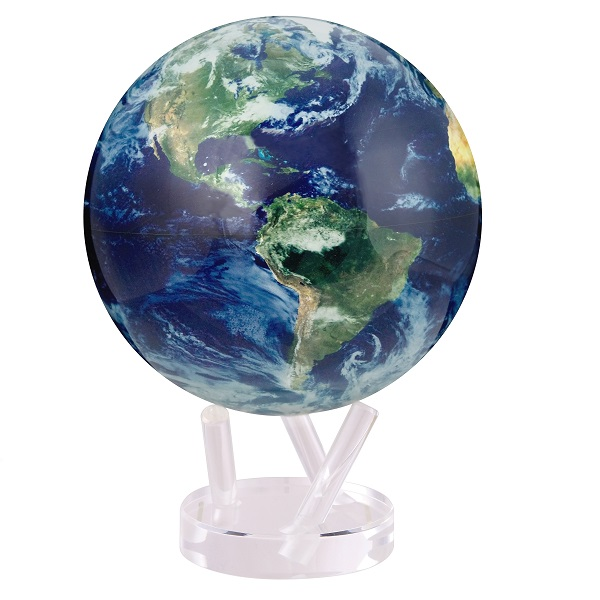MOVA® Satellite View with Cloud Cover Globe 8.5""