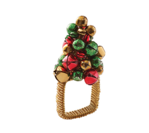 Kim Seybert Napkin Ring JINGLE TREE