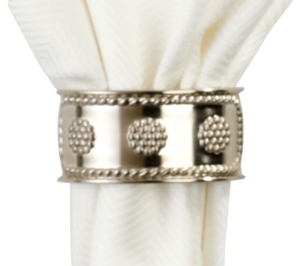 Juliska Berry & Thread Metal Napkin Ring