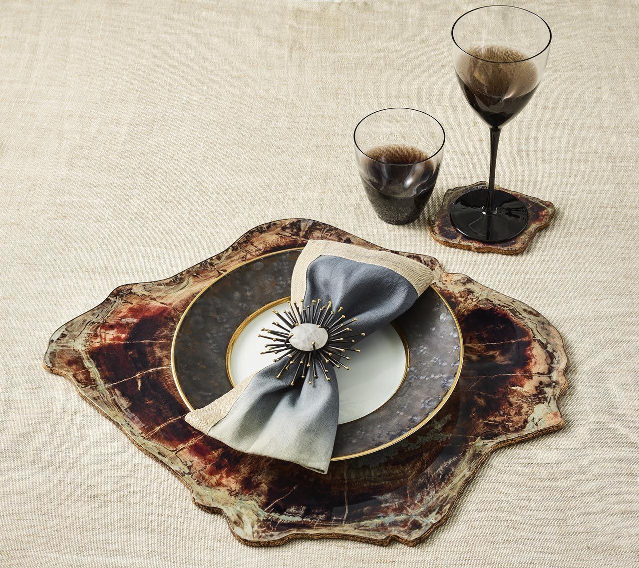 Kim Seybert-Fossil Coaster