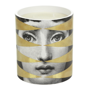 Fornasetti Losanghe Scented Candle - Gold - 1.9kg