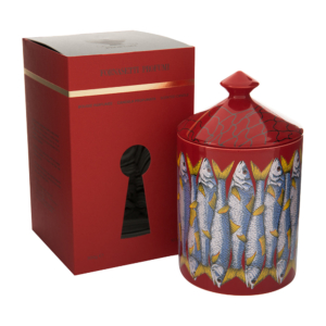 Fornasetti Sardine Rosso Scented Candle - 300g