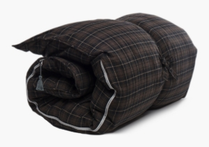 Hedgehouse Throw Bed-Stowe Flannel In Brown & Black