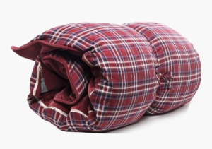 Hedgehouse Throw Bed-Winston Flannel In Red & Blue