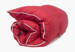 Hedgehouse Throw Bed-Edie Solid Throwbed in Red