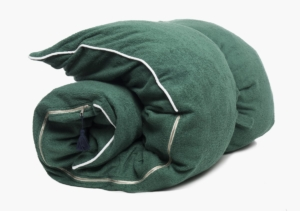 Hedgehouse Throw Bed-Slim Terrycloth in Forest Green
