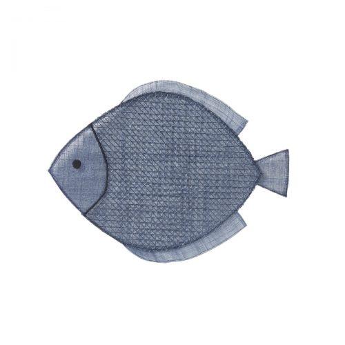 Juliska Fish Navy Blue Placemat