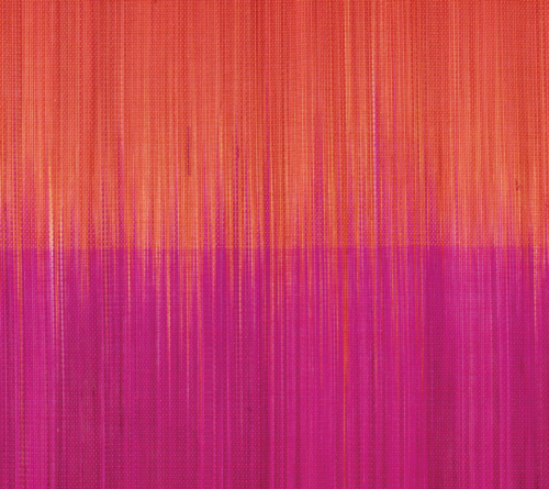 Kim Seybert Placemat OMBRE PLACEMAT IN PINK & ORANGE-Sold Sets of 4