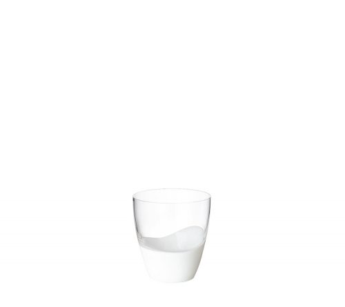 Kim Seybert - VAGUE DOUBLE OLD FASHIONED IN WHITE