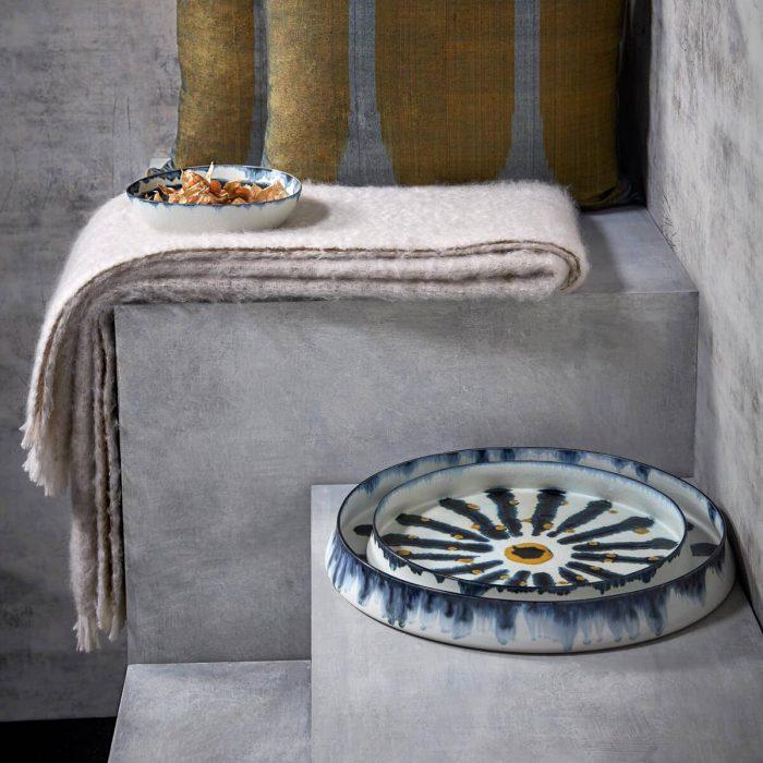 L'Objet -Bohême - Round Platter - Medium