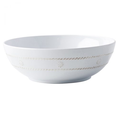 Juliska Berry & Thread Melamine Whitewash Coupe Bowl