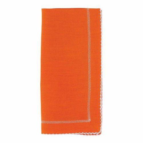 Bodrum Napkin Picot Orange
