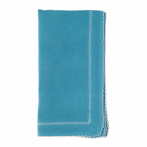 Bodrum Napkin Picot Turquoise