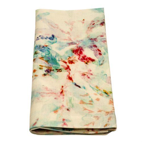 Tina Chen Designs Napkin Multi Watercolor