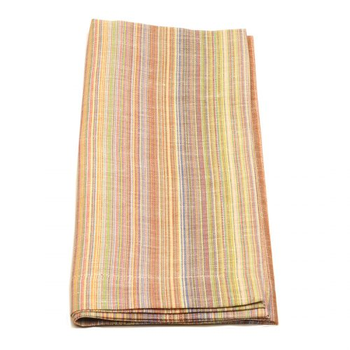 Tina Chen Designs Napkin Multi Color Tiny Stripe
