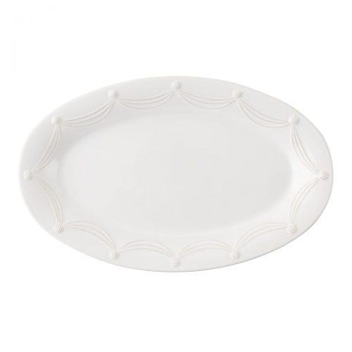 "JULISKA Berry & Thread Whitewash 22.5"" Oval Platter"