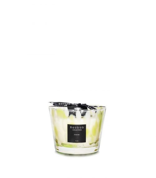 """Baobab Candle Collection – Pearls – Emerald 3.9"""""""