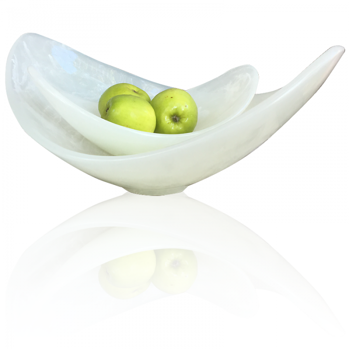 Lily Juliet White Scoop Bowl