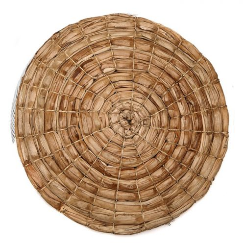 Deborah Rhodes Placemats WRAPPED PALM Round Natural
